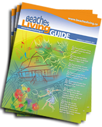 Beaches Living Guide cover